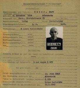 weber-kurt-haeftlingspersonalkarte-natzweiler